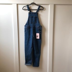Zara Kids Demin Overalls, Size 8